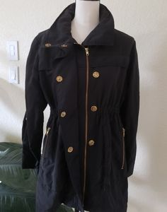 Millard Fillmore MF-13 Raincoat Black Jacket Women